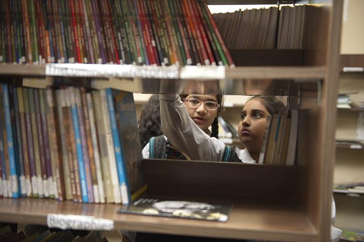 La Blossoms School-Library