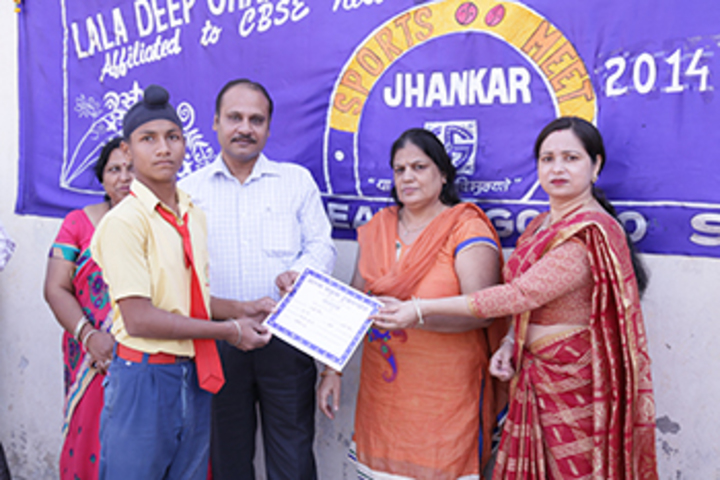 Lala Deep Chand Jain Public School-Awards