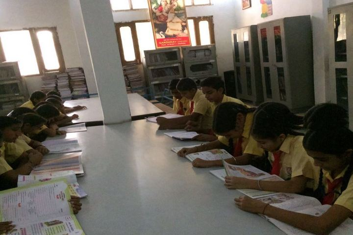 Lala Deep Chand Jain Public School-Library
