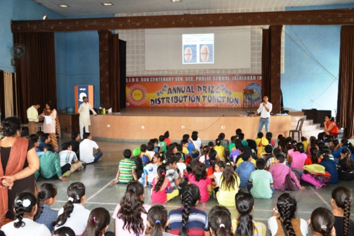 Late Ishar Das Gumber Dav Centenary Public School-Auditorium