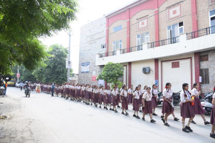 Late Ishar Das Gumber Dav Centenary Public School-Rally