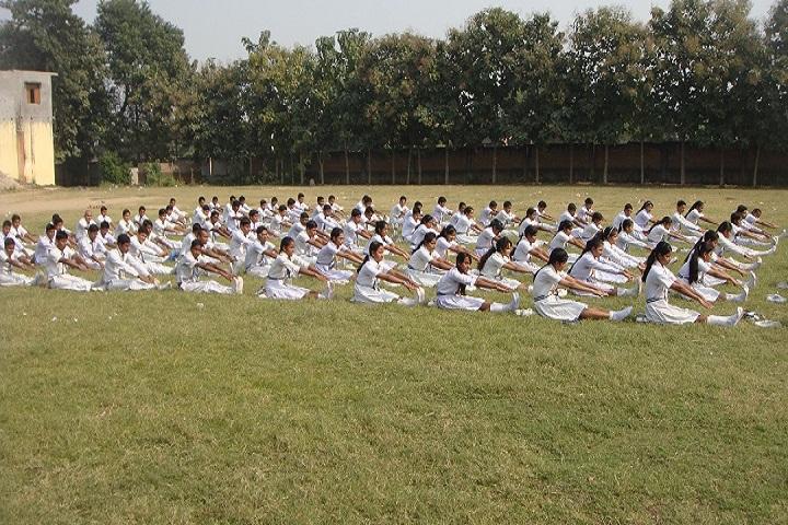 J M V Residential School-Yoga