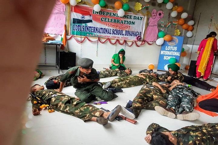 Lotus International School-NCC