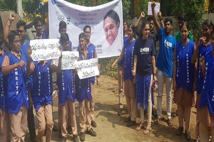 Amrita Vidyalayam-Awareness of Swachh Bharath