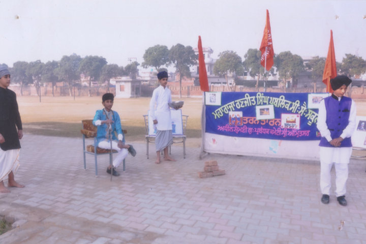 Maharaja Ranjit Singh Public Senior Secondary School-Drama