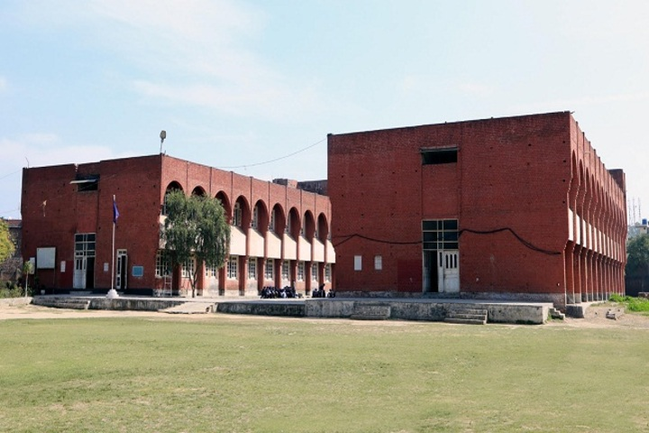 Maharaja Ranjit Singh Public Senior Secondary School-School Building