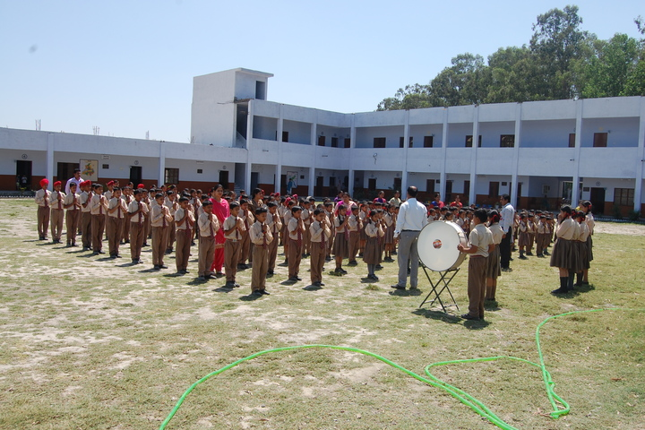 Maharana Partap Adarsh Vidyalaya-Morning Assembly