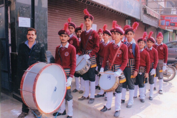 Maharana Partap Senior Secondary Adarsh Vidyalaya-Band Troop
