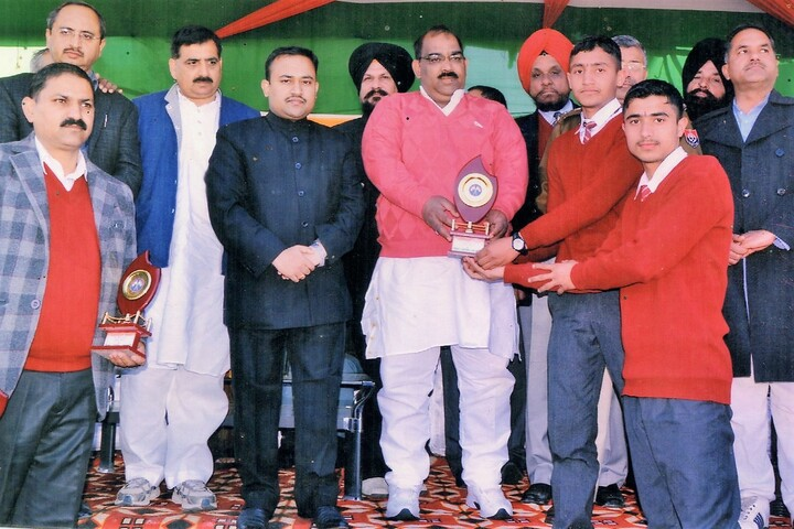 Maharana Partap Senior Secondary Adarsh Vidyalaya-Prize Distribution