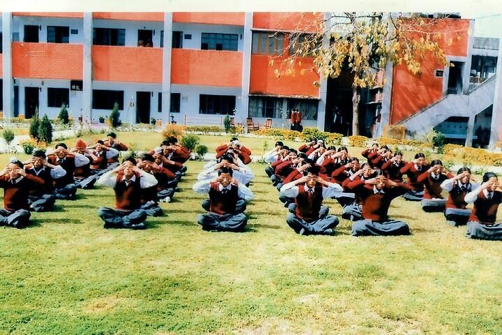 Maharana Partap Senior Secondary Adarsh Vidyalaya-Yoga