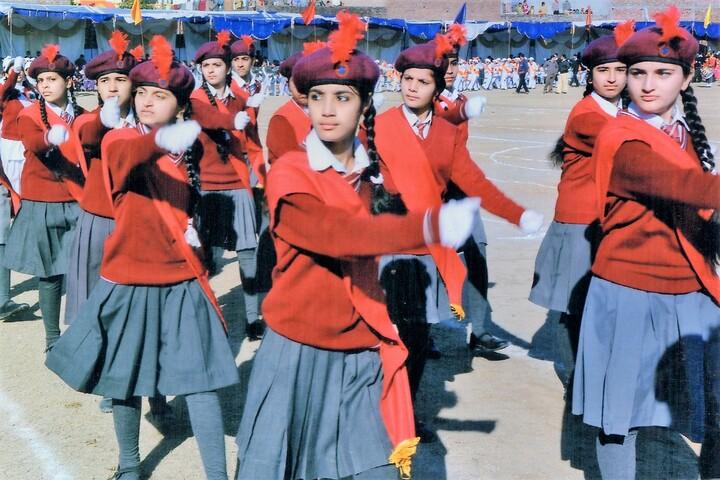 Maharana Partap Senior Secondary Adarsh Vidyalaya-Investiture Ceremony