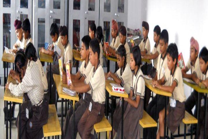 Majha Public School-Classroom