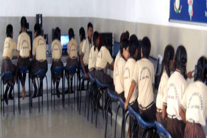 Majha Public School-Computer Lab