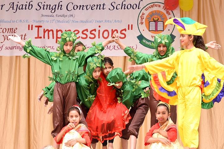 Major Ajaib Singh Convent School-Drama