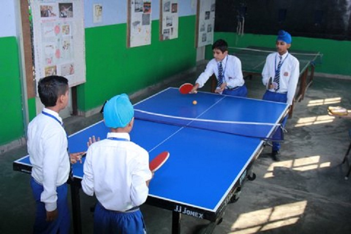 Major Ajaib Singh Convent School-Games