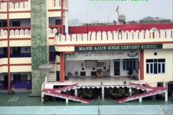 Major Ajaib Singh Convent School-Campus view