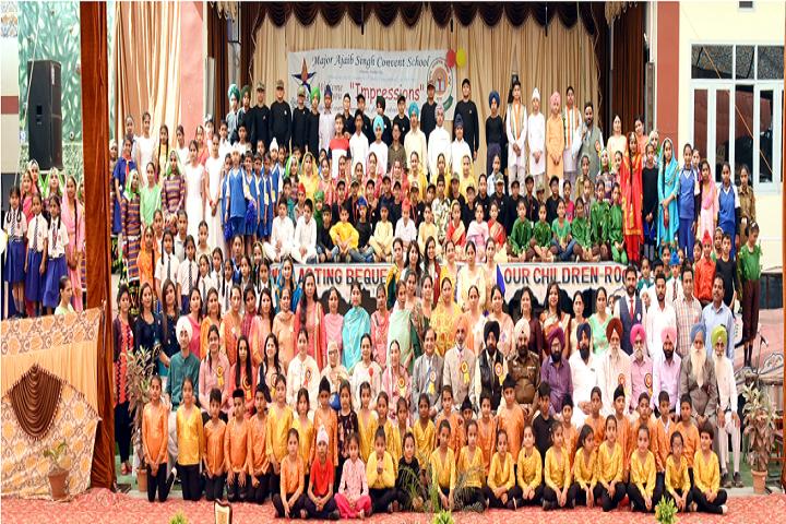 Major Ajaib Singh Convent School-Celebration day