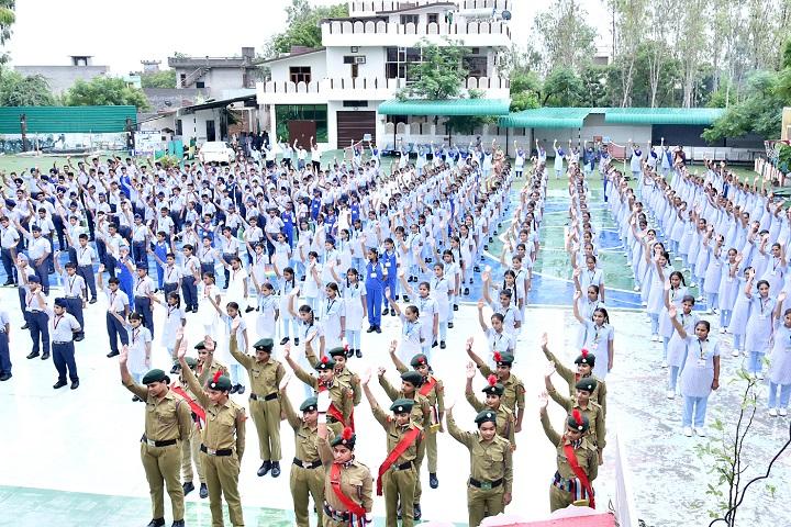 Major Ajaib Singh Convent School-Flag Hosting Day