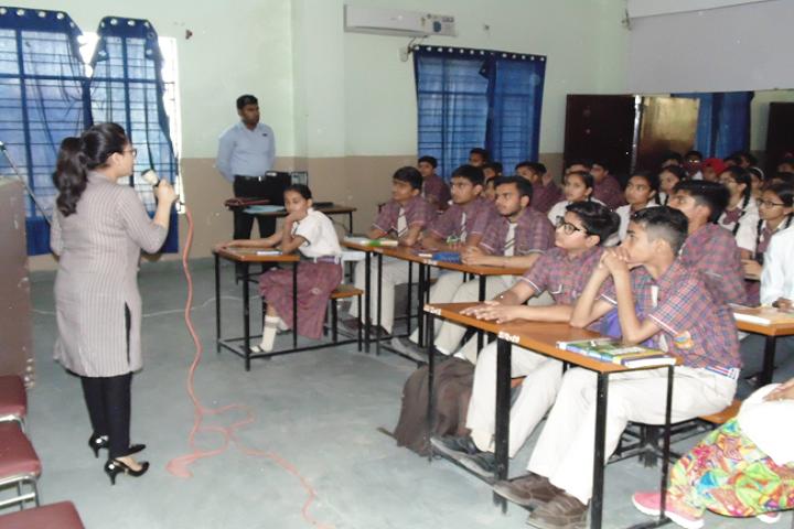 Malvi Devi Dayanand model School-Classroom