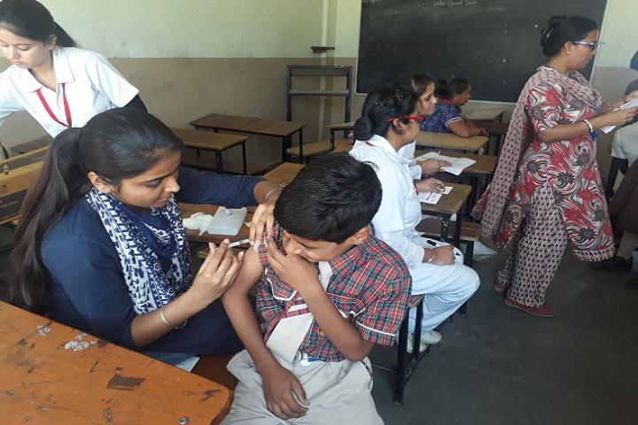 Malvi Devi Dayanand model School-Medical Camp