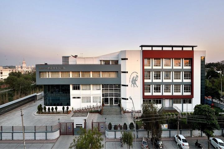 Manav Mangal Smart School-Campus View