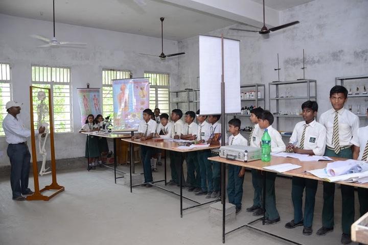 Jagriti Public School-Biology Lab