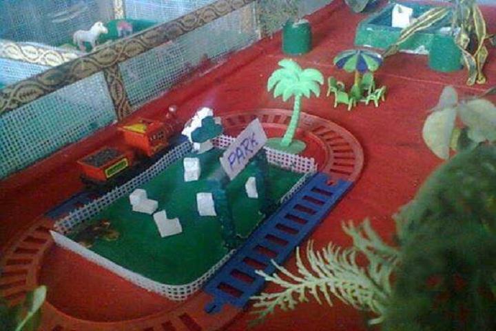Jagriti Public School-Science exhibitions