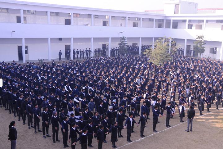 Manu Vatika Day Boarding School-Assembly