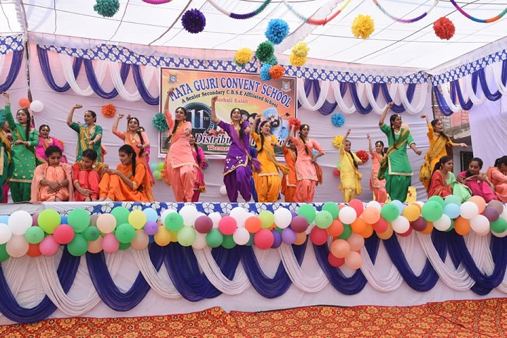 Mata Gujri Convent School-Dance performance