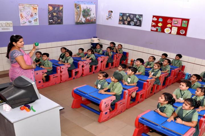 Mata Gujri Public School-Kids classroom