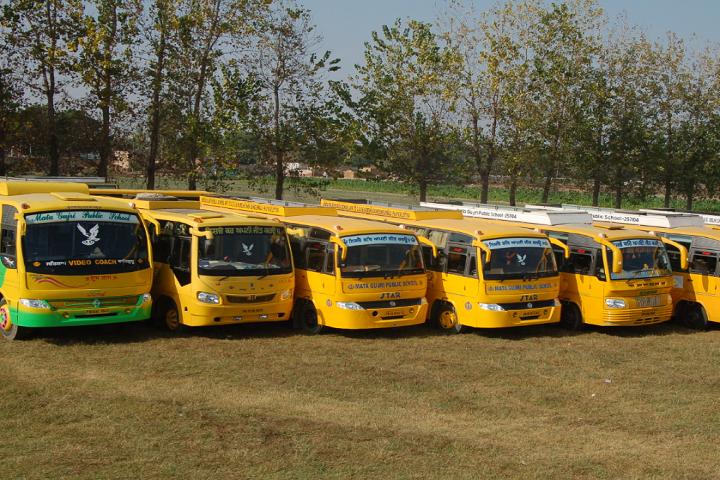 Mata Gujri Public School-Transport