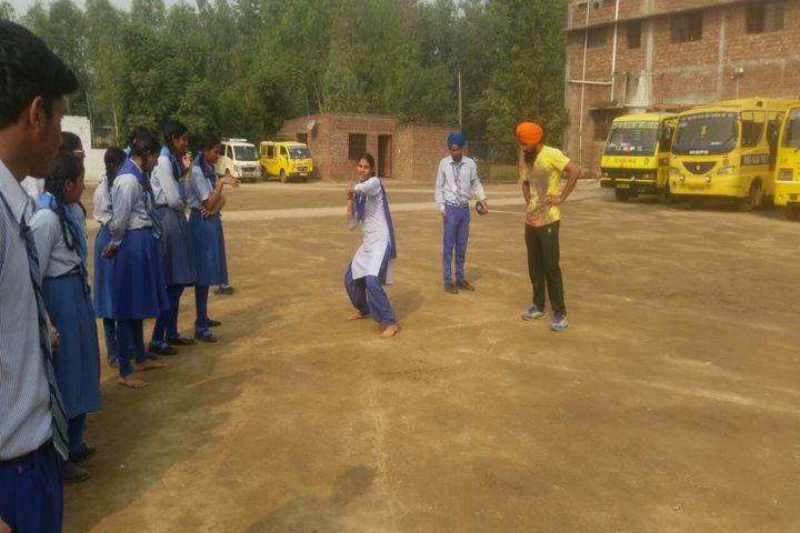 Mata Gujri Public School-Games