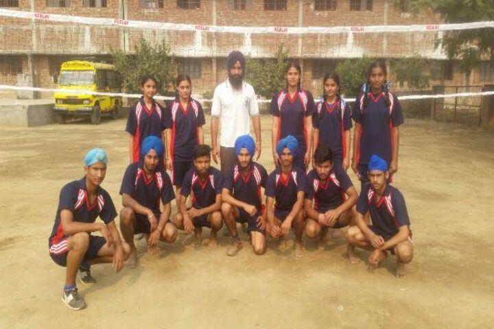 Mata Gujri Public School-Sports