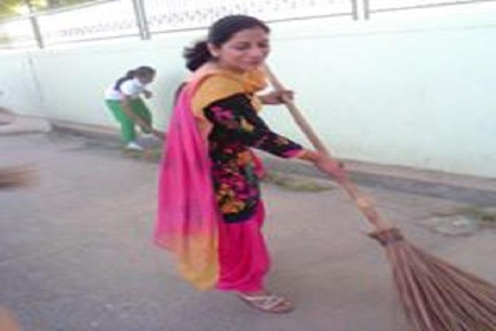 Mata Jashwant Kaur Memorial School-Swaccha Bharat
