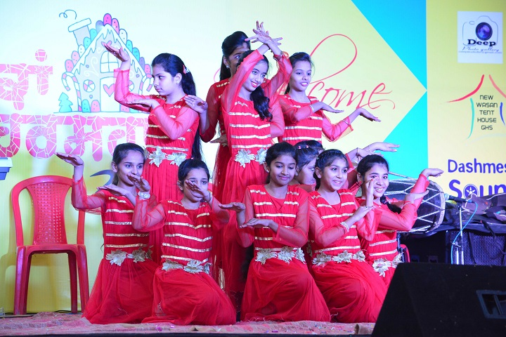 Mata Sahib Kaur Public School-Dance performance