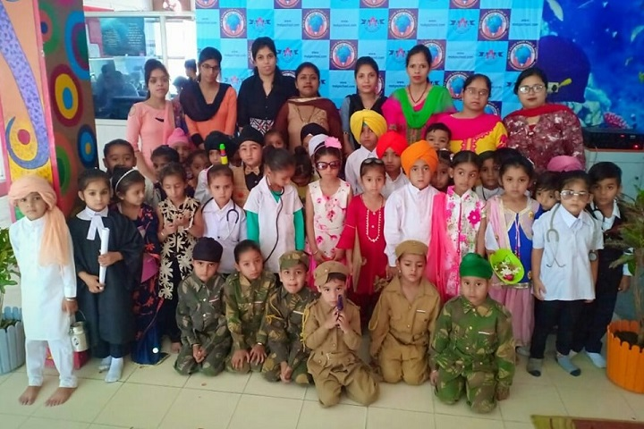 Mata Sahib Kaur Public School-Fancy dress competition