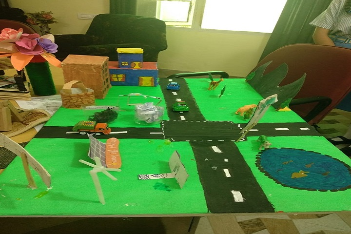 Mata Sahib Kaur Public School-Student Projects