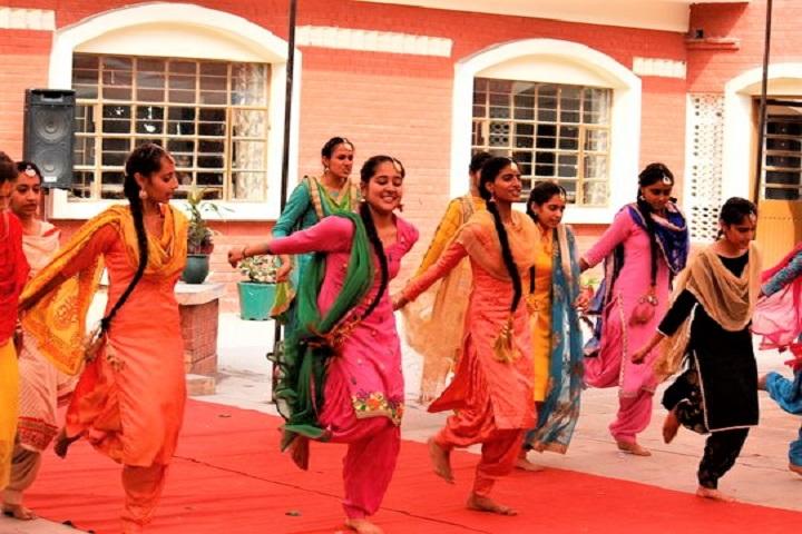 Mata Sahib Kaur Public School-Dance performance