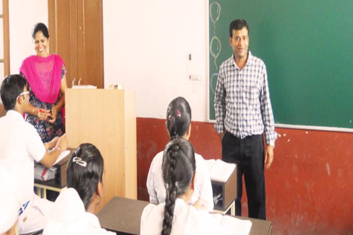 Maya Devi Goel Public School-Class Room