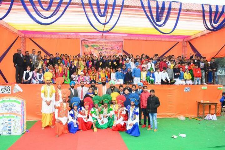 Maya Devi Goel Public School-Group Photo