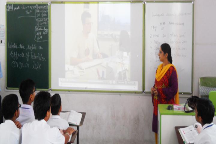 Maya Devi Goel Public School-Smart Class