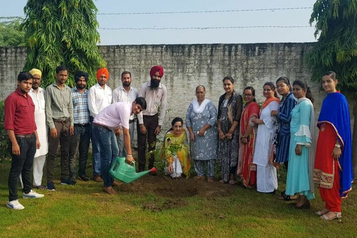 Maya Devi Goel Public School-Tree Plantation
