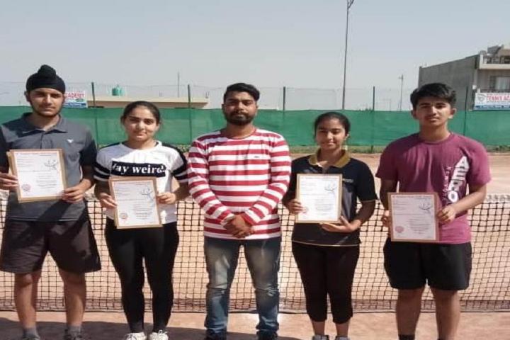 Mayor World School-Tennis Champions