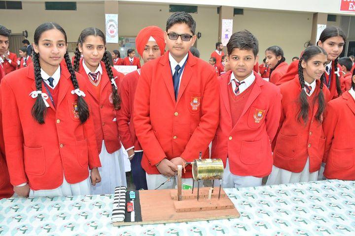 Meera Public School-Science Exhibition
