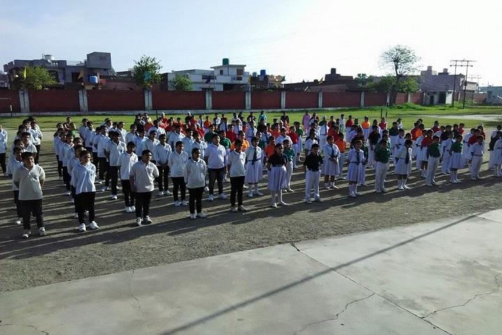 Mela Devi Kalra Arya School-Assembly