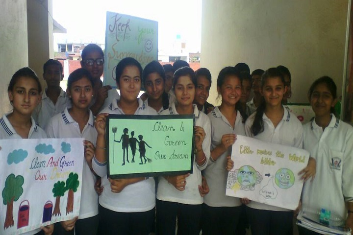 Mela Devi Kalra Arya School-Clean and Green Project