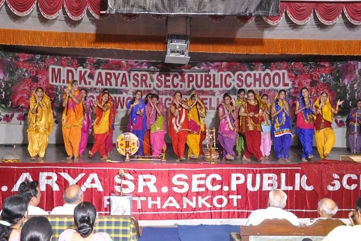 Mela Devi Kalra Arya School-Dance Performance