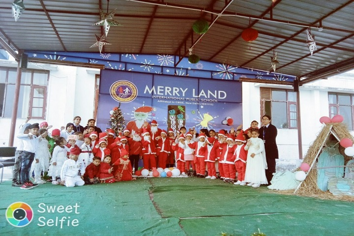 Merry Land International Public School-Christmas Celebrations
