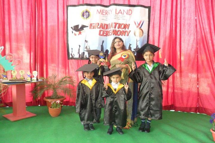 Merry Land International Public School-Graduation Ceremony