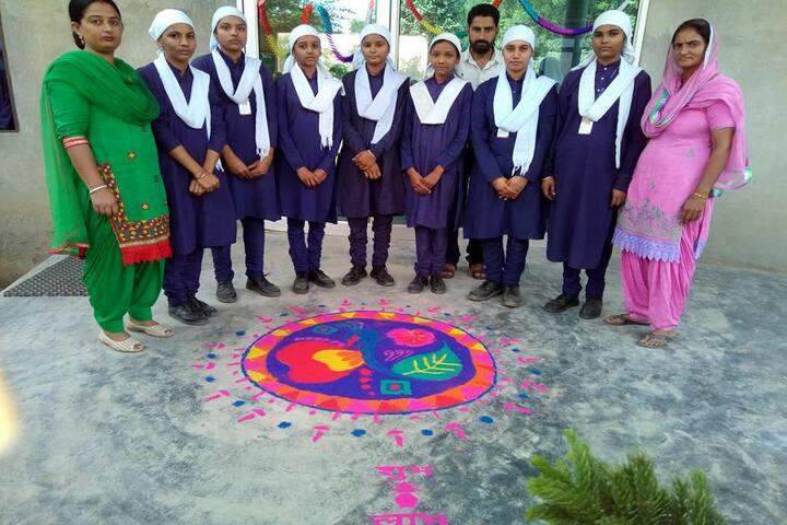 Miri Piri Khalsa Academy-Rangoli